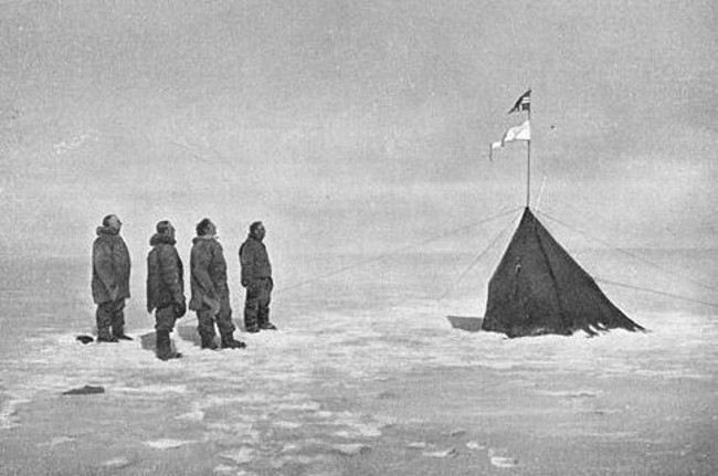 First expedition to South Pole by Amundsen marked by Google doodle