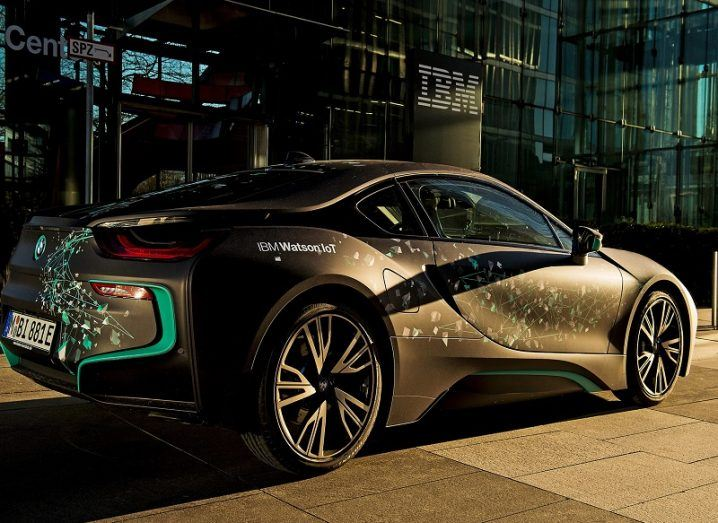 BMW i8 Watson