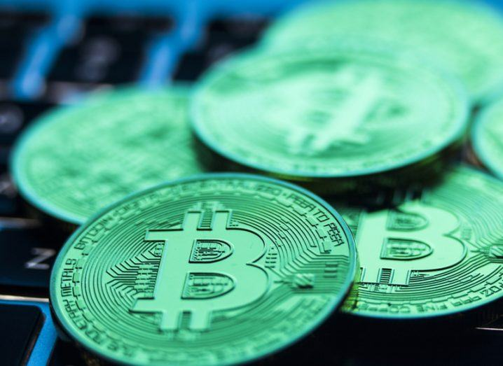 Value of bitcoins in circulation hits record high of $14bn