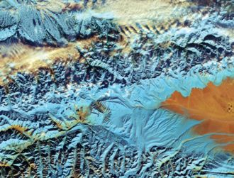 ESA releases stunning image of Chinese mountain range