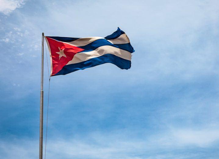 Cuba flag censorship