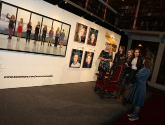 Accenture unveils Women on Walls at Royal Irish Academy