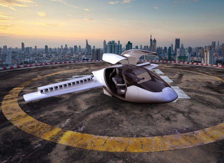 Flying-car start-up Lilium