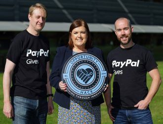 PayPal hackathon digitally future-proofs 5 Irish charities