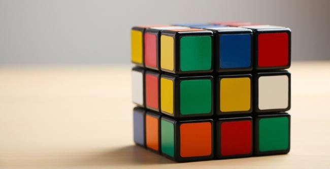 Rubik's Cube Christmas Gift