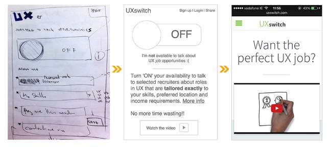 UX illustration