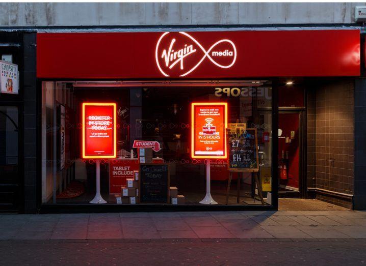 Virgin Media down Ireland