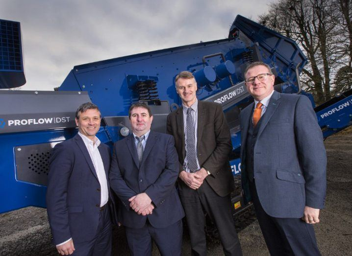 Tyrone firm Waste Systems raises €1.2m investment to go global
