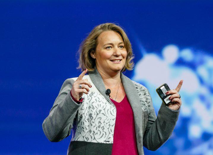 Blockchain entrepreneur Leanne Kemp