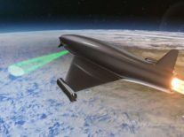 BAE Systems reveals atmosphere-bending laser mounted on rocket craft