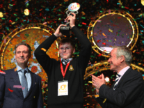 The future is secure in the hands of 2017's Young Scientist winner