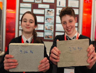 Manure bricks and algae oil bioreactors among green entries at BTYSTE