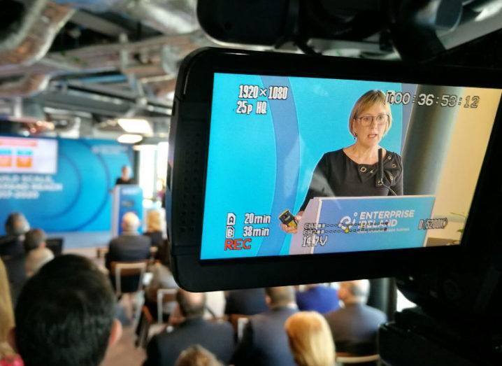 Julie Sinnamon, chief executive of Enterprise Ireland. Image: Luke Maxwell