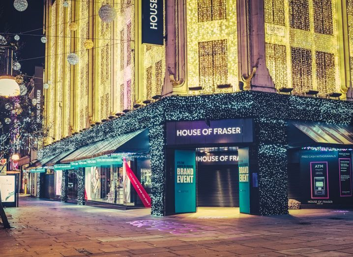House of Fraser to invest £35m in challenger bank app Tandem