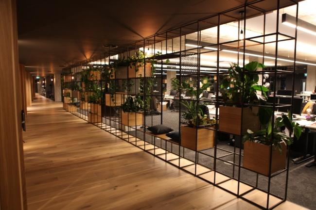 Slack plant wall