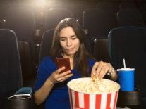 Possible Apple 'theatre mode' could help people use phones in cinemas