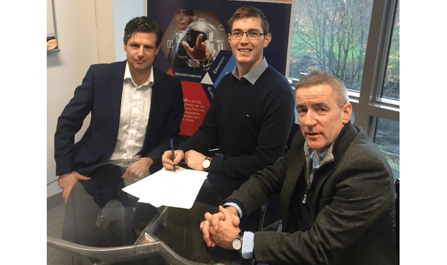 Declan Mahoney, Skellig Surgical; Conor O'Shea, Skellig Surgical; Kevin Dalton, UCC