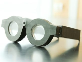 Are auto-focusing glasses a thing of the … present?