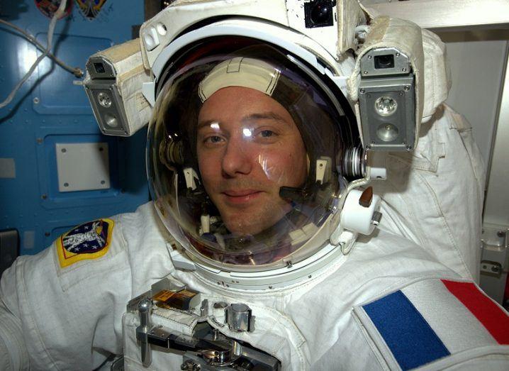 ESA ISS Thomas Pesquet