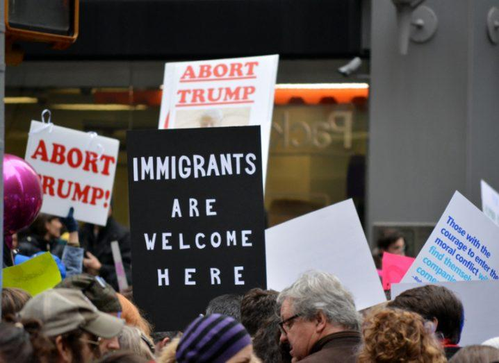 Immigration: Women's march
