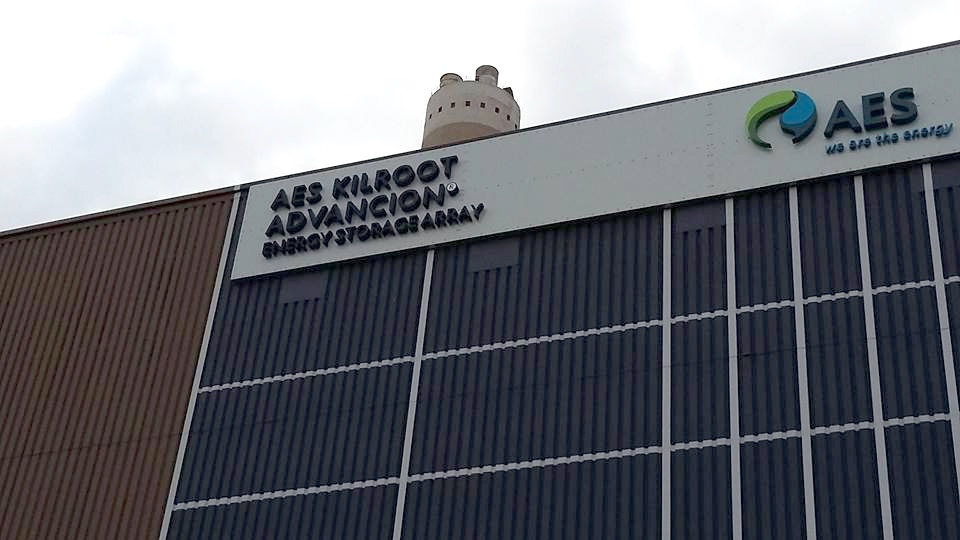 AES's facility at Kilroot Power Station