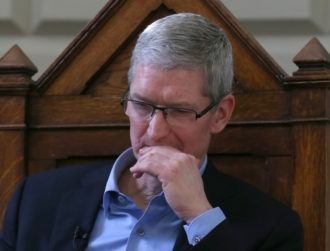 Apple CEO Tim Cook takes a pay cut amid falling iPhone sales