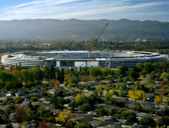 Apple workers to occupy 'spaceship' Apple Park from April