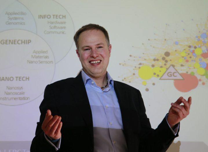 Dr Dieter F. Kogler. Image: Nick Bradshaw