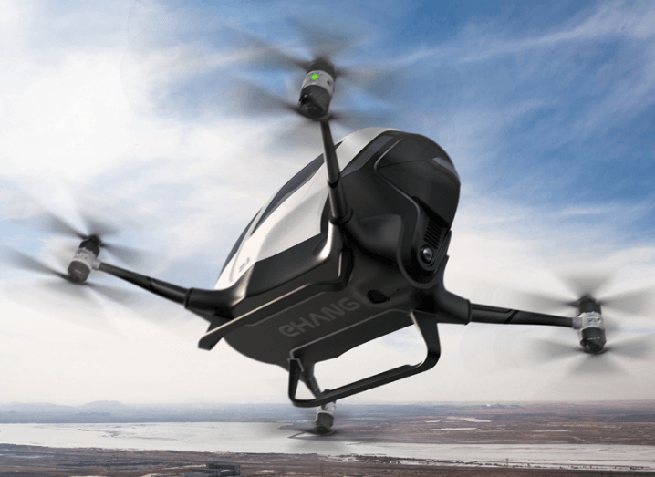 Flying taxi EHang