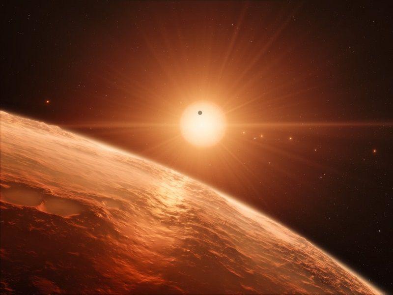 NASA announcement reveals seven Earth-like planets orbiting dwarf star