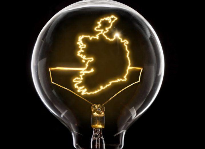 Irish innovation: lightbulb