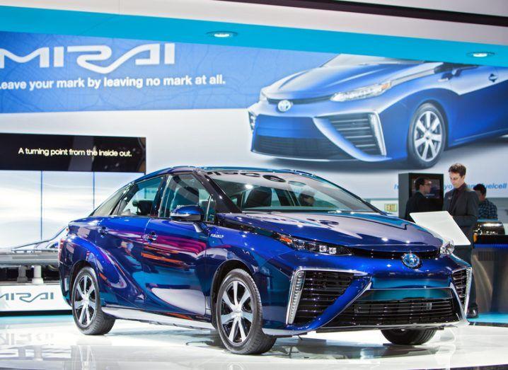 Hydrogen fuel cell Mirai