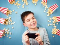 Is preloaded content on phones the new way to enjoy movies?