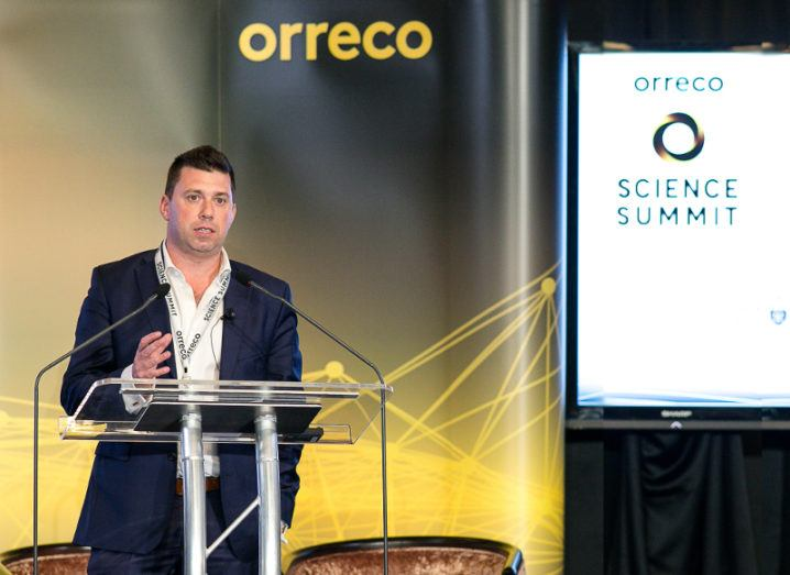Dr Brian Moore, co-founder and CEO of Orreco. Image: Orreco.