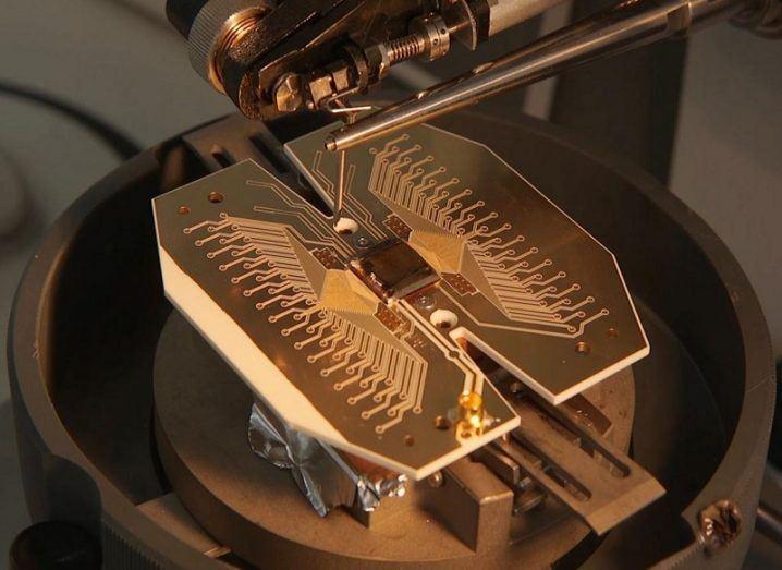 Quantum computer blueprint