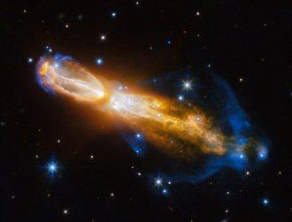 Hubble snaps death of colourful star in the Rotten Egg Nebula