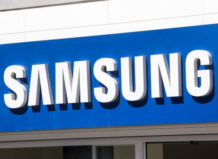 Samsung sign 2