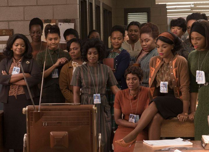 A scene from Hidden Figures