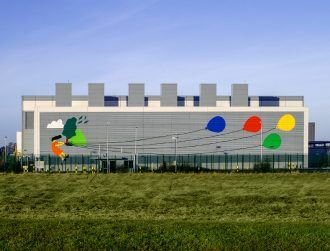 Google paints giant, colourful murals on its Irish and US data centres