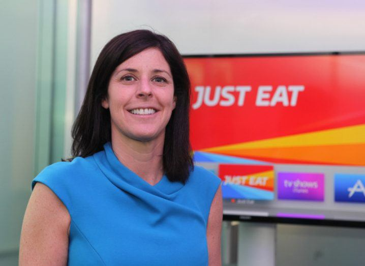 Just Eat's Amanda Roche Kelly: 'We want to create the world's largest food community'