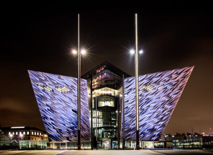 Belfast's Titanic museum. Image: James Kennedy NI/Shutterstock