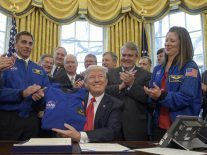 Trump signs $19.5bn NASA bill to fund 2030s Mars mission
