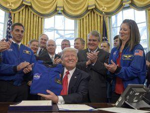Donald Trump signs NASA bill