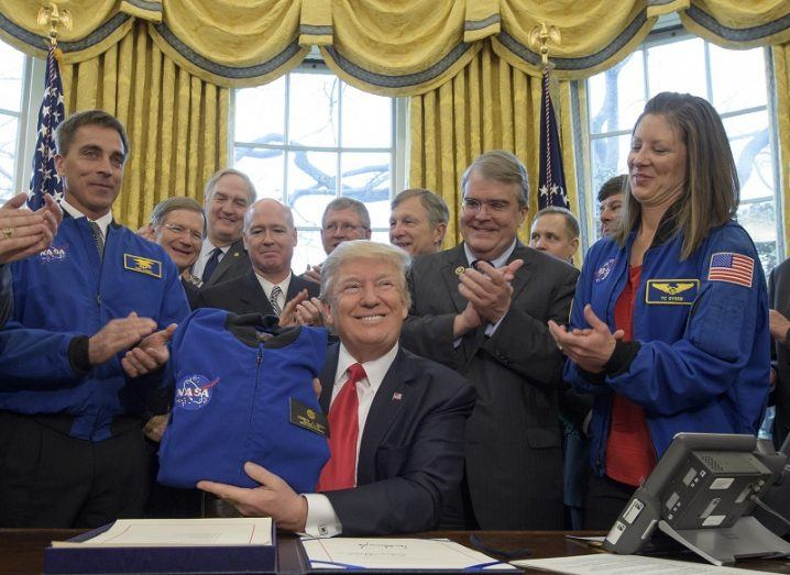 Donald Trump signs NASA bill