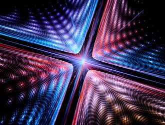 Researchers manipulate quasiparticles to record data with light