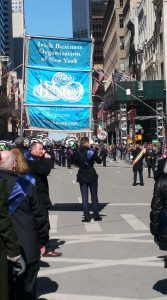 Gecko Governance at the New York St Patrick's Day parade