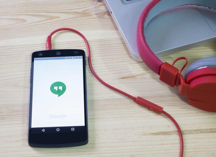 Google Hangouts. Image: iJeab/Shutterstock