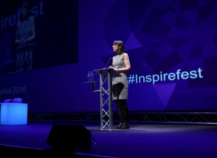 Ann O'Dea, Inspirefest founder. Image: Conor McCabe Photography