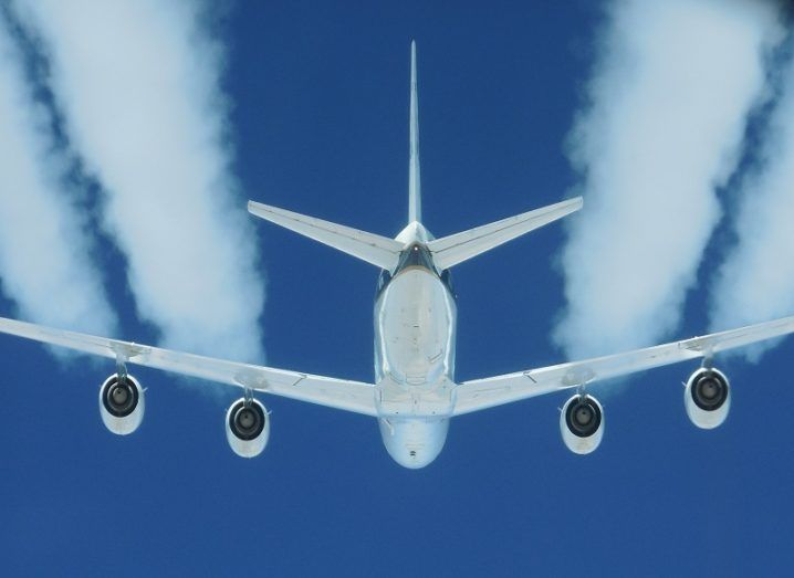 Jet engine pollution