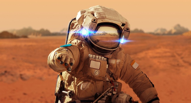 Astronauts will one day set foot on Mars. Image: Alones/Shutterstock